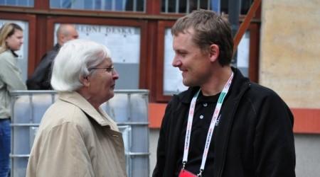 Olga Oldřichová a Martin Doktor