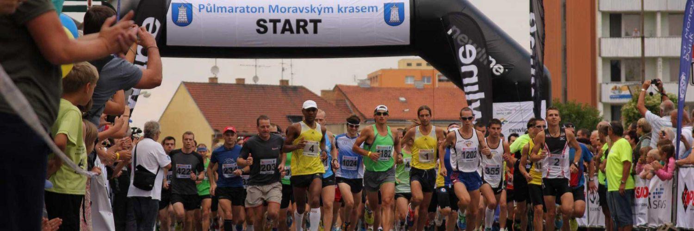 Půlmaraton Moravským krasem