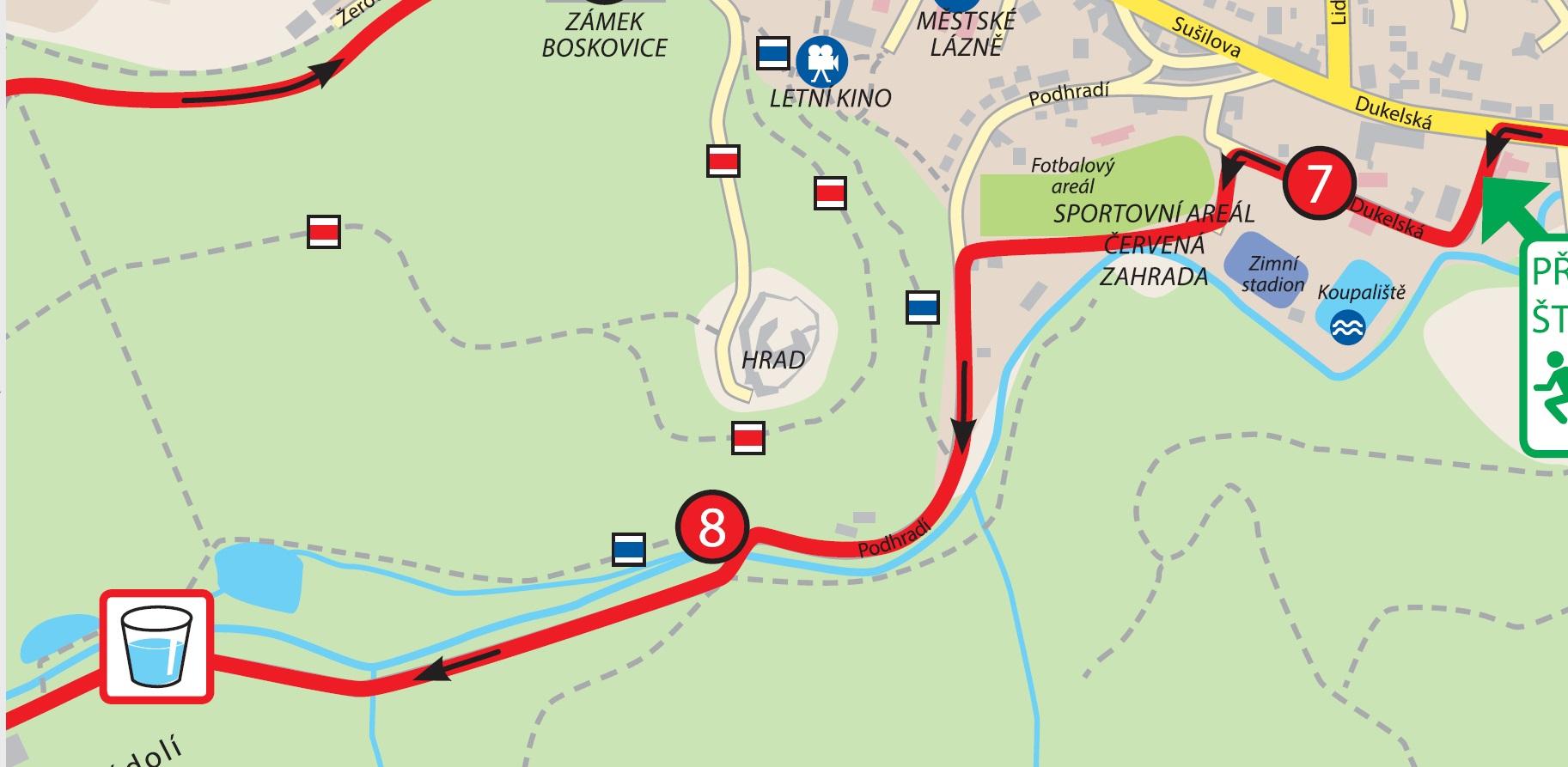 Změna trasy v Pilském údolí
