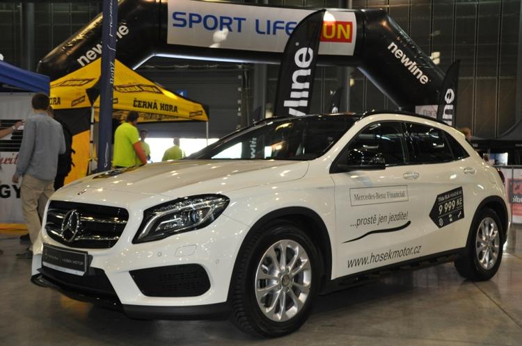Doběhněte si pro Mercedes!