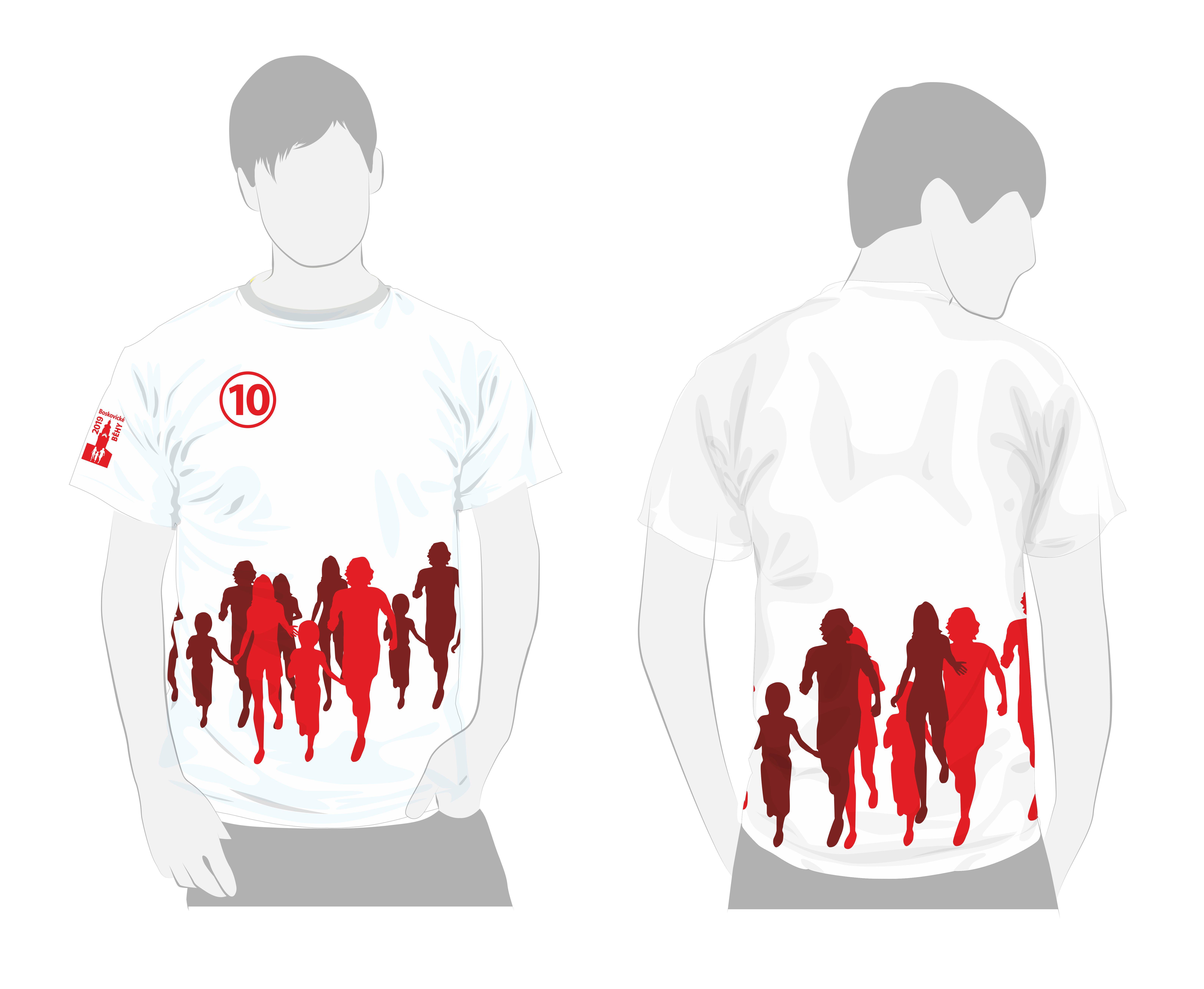 funkční sublimační tričko