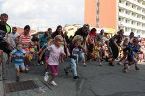 Půlmaraton Moravským krasem - Dětské běhy 2013